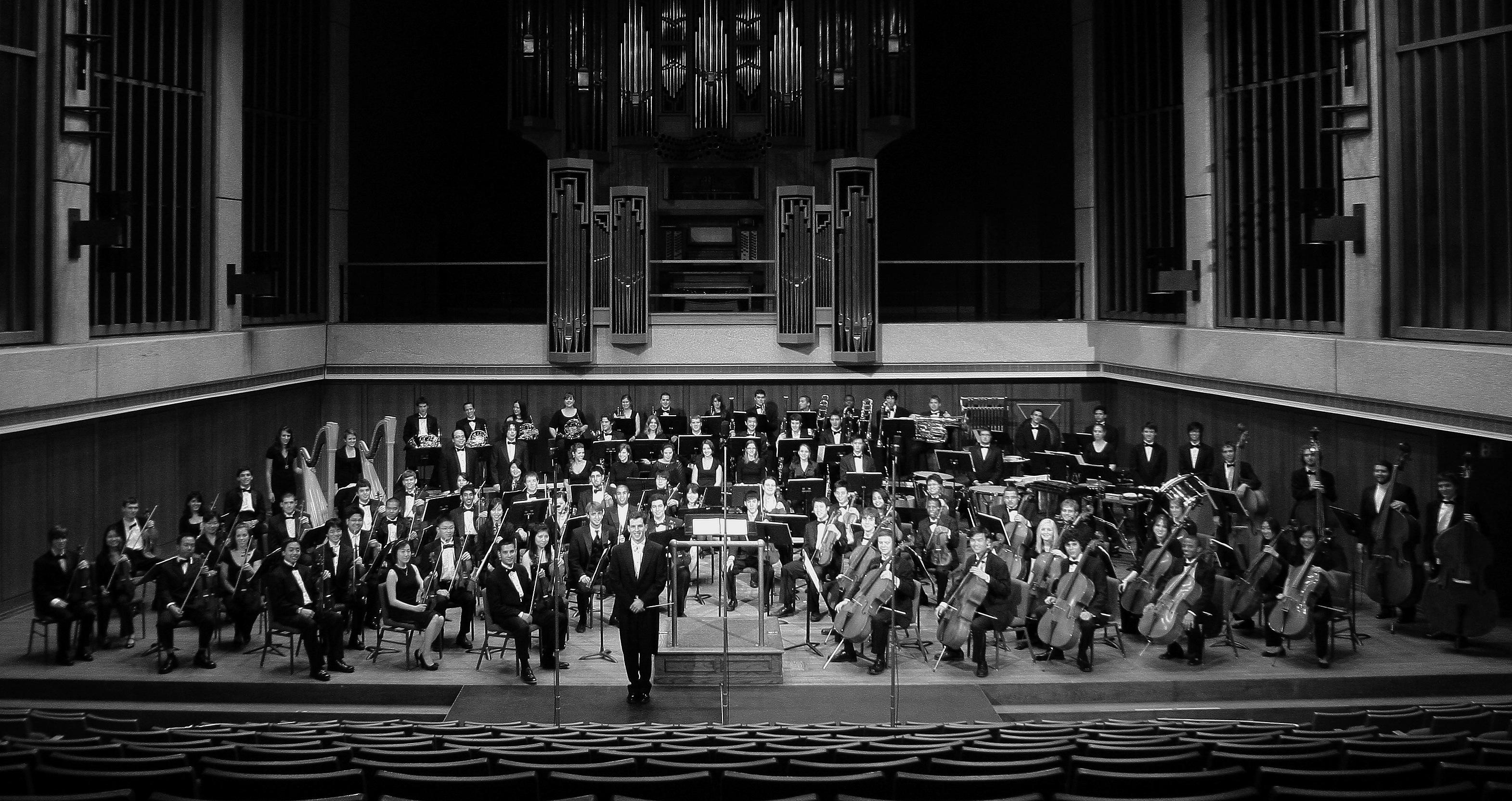 Richard McKay, Conductor, University Orchestra, University of Texas at Austin