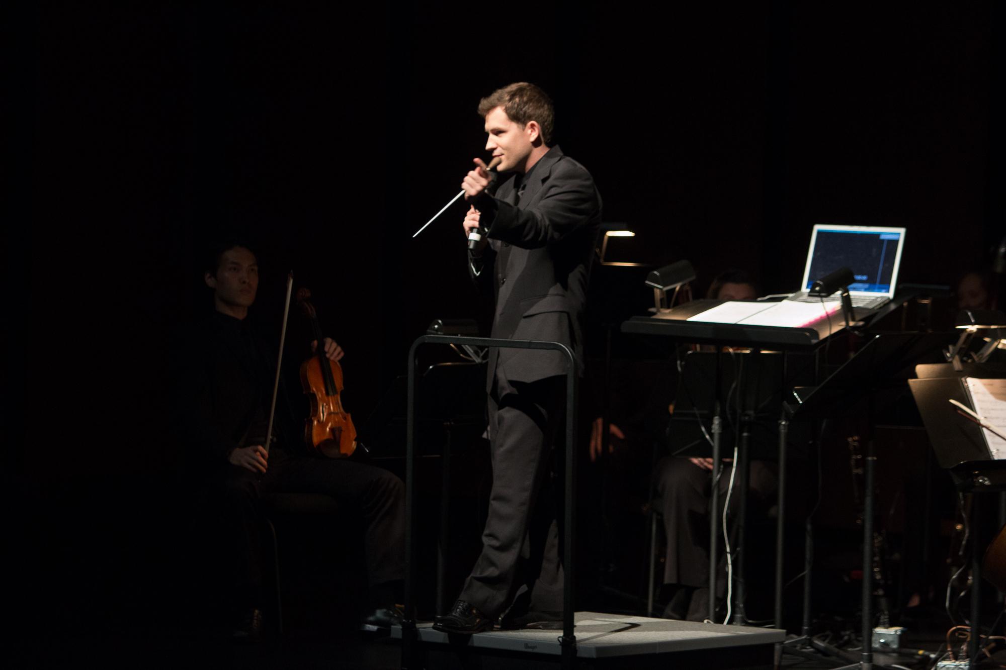 Richard McKay, Conductor, Dallas Chamber Symphony, Lodger